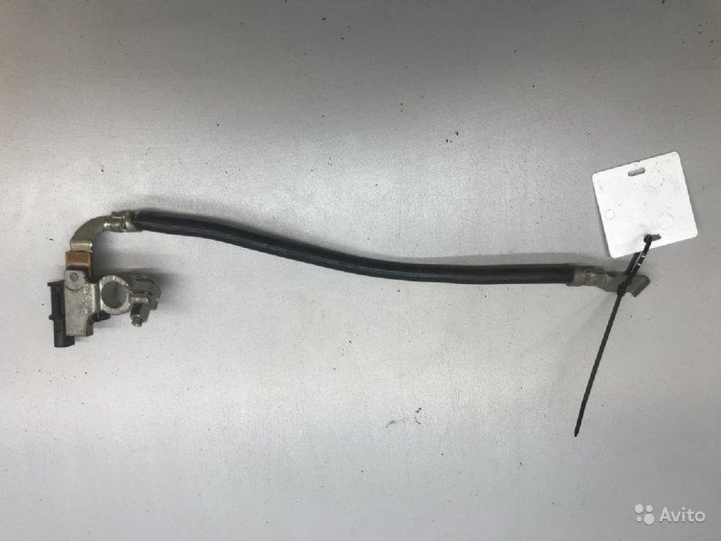 Клемма аккумулятора минус (провод)   61219380966