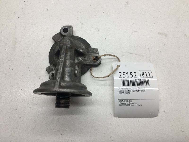 Кронштейн масляного фильтра   16531-69G10