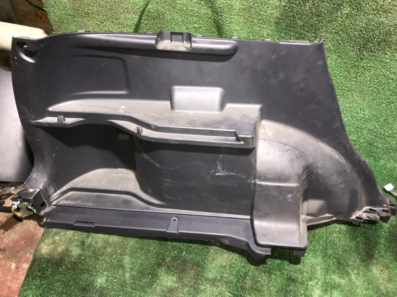 Обшивка багажника пластик Honda Crv 2006 [84685SWAA01ZB] RE4 K24A, левая