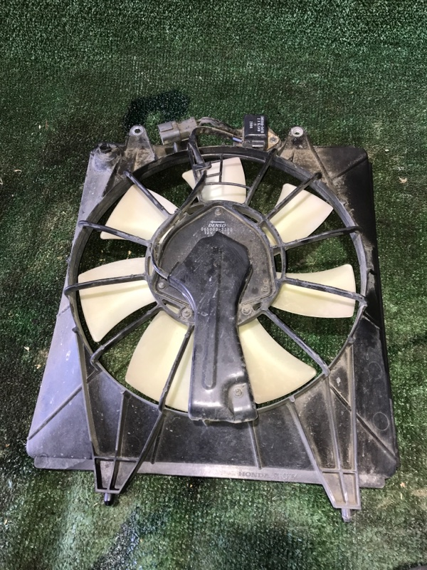 Диффузор вентилятора охлаждения в сборе Honda Crv 2006 [38615RZAA01] RE4 K24A