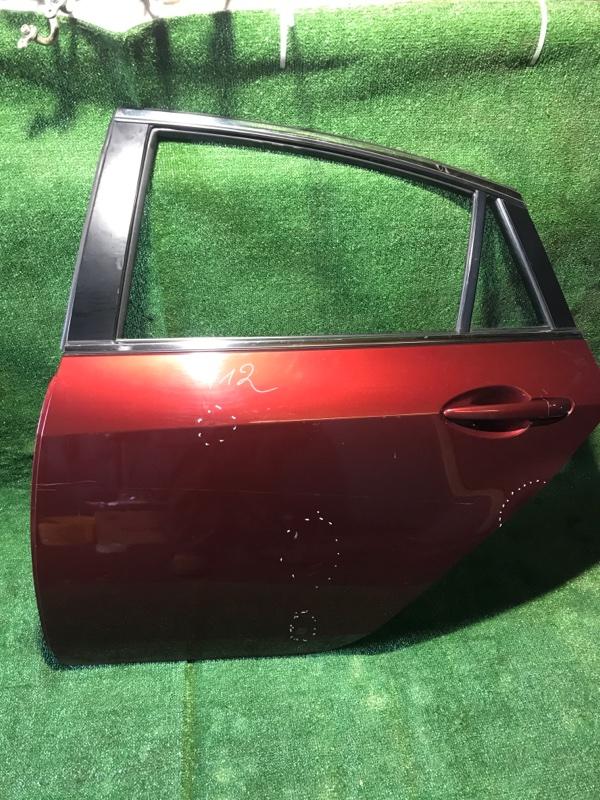 Дверь Mazda Mazda 6 [GSYM7302XJ] GH, задняя левая