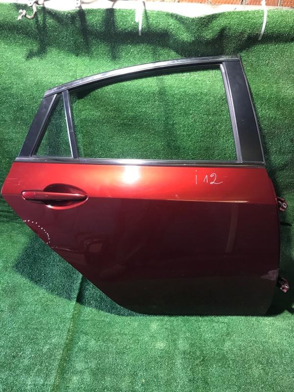 Дверь Mazda Mazda 6 [GSYM7202XJ] GH, задняя правая